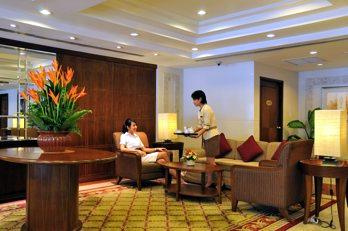 Lobby Studio Apartment 30 Sq.m. Royal President Bangkok