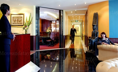 Reception Serviced Offices Apartment 0 Sq.m. Servcorp - Singapore, Six Battery Road