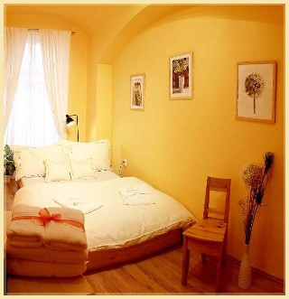 Bedroom 1-Bedroom Apartment 37 Sq.m. Residence Lipova - Economy Apartment B