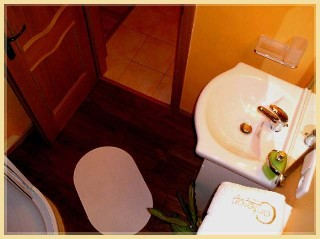 Bathroom 1-Bedroom Apartment 37 Sq.m. Residence Lipova - Economy Apartment B