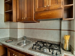 Kitchen, Serviced Apartments Ref: 39861, Rome