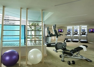 Gym Studio Apartment 50 Sq.m. Ascott Raffles Place Singapore