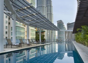 Swimming Pool Studio Apartment 57 Sq.m. The Ascott Kuala Lumpur