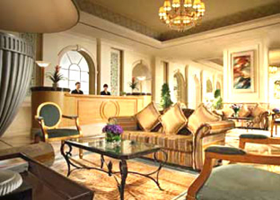 Lobby 2-Bedroom Apartment 156 Sq.m. Somerset Grand Fortune Garden