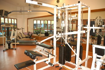 Gym 2-Bedroom Apartment  Sq.ft. Redwood West Apartments