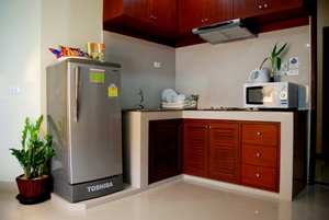 Kitchen Area 1-Bedroom Apartment 50 Sq.m. Sivalai Place