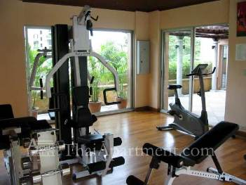 Gym 1-Bedroom Apartment 53 Sq.m. Nonsi Residence
