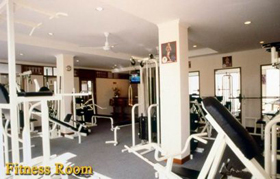 Fitness Room 1-Bedroom Apartment 44 Sq.m. Marika Service Apartment