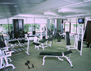 Gymnasium  Equipment 2-Bedroom Apartment 110 Sq.m. Siri Sathorn A Beaufort Serviced Residence