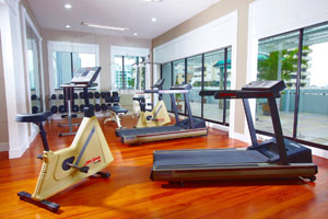 Gym 2-Bedroom Apartment 140 Sq.m. Phachara Suites