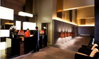 Ground Floor Lobby 2-Bedroom Apartment 82 Sq.m. Pan Pacific Serviced Suites Orchard, Singapore
