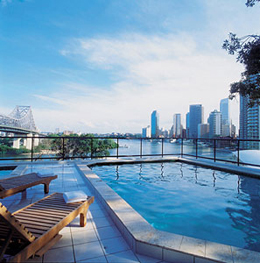 Swimming Pool 1-Bedroom Apartment 0 Sq.m. Medina Executive Brisbane Apartments