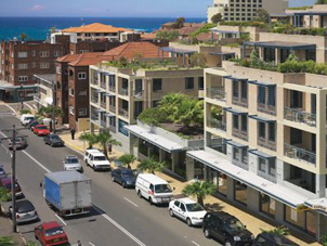 Exterior Building 1-Bedroom Apartment 55 Sq.m. Medina Executive Coogee