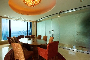 Meeting Room 1-Bedroom Apartment  Sq.ft. Four Seasons Place Hong Kong