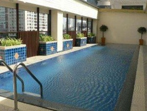 Swimming Pool Studio Apartment 30 Sq.m. Citadines Sukhumvit 11 Bangkok