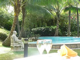 View of Swimming Pool 3-Bedroom Apartment 164 Sq.m. Saigon Domaine Luxury Residences