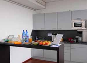 Kitchen area Serviced Offices Apartment 0 Sq.m. Munich, Am Stachus