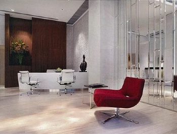Lobby 1-Bedroom Apartment  Sq.ft. Fraser Suites Hong Kong