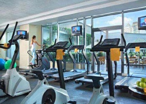 Fitness Center Studio Apartment 53 Sq.m. Ascott Makati