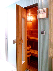 Sauna Room 2-Bedroom Apartment 110 Sq.m. Siri Sathorn A Beaufort Serviced Residence