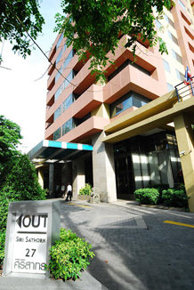 Building 2-Bedroom Apartment 110 Sq.m. Siri Sathorn A Beaufort Serviced Residence