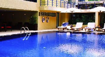 Swimming Pool 2-Bedroom Apartment 110 Sq.m. Siri Sathorn A Beaufort Serviced Residence