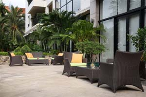 Cafe 3-Bedroom Apartment 164 Sq.m. Saigon Domaine Luxury Residences