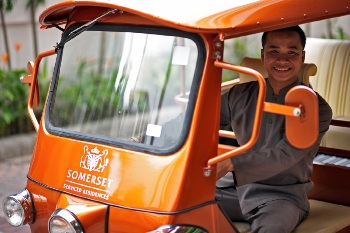 Tuk-Tuk service 2-Bedroom Apartment 96 Sq.m. Somerset Lake Point