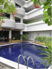 Pool Studio Apartment 27 Sq.m. Garden Paradise Pattaya