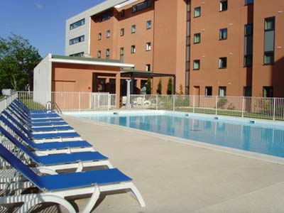 Swimming Pool Studio Apartment 27 Sq.m. Appart`City Bordeaux Mrignac