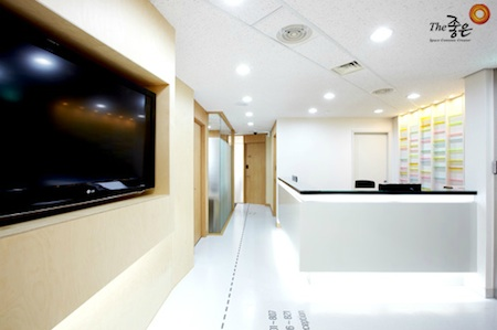 Reception Area Serviced Offices Apartment 0 Sq.m. Kangnam Center