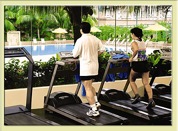 Fitness Center 3-Bedroom Apartment 111 Sq.m. Great World Serviced Apartments