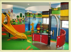 Kid's Play Room 3-Bedroom Apartment 175 Sq.m. Great World Serviced Apartments