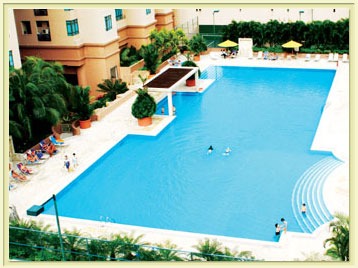 Swimming Pool 3-Bedroom Apartment 111 Sq.m. Great World Serviced Apartments