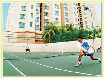 Tennis Court 3-Bedroom Apartment 111 Sq.m. Great World Serviced Apartments
