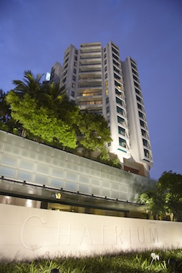 Entrance Studio Apartment 45 Sq.m. Chatrium Residence Bangkok - Sathon