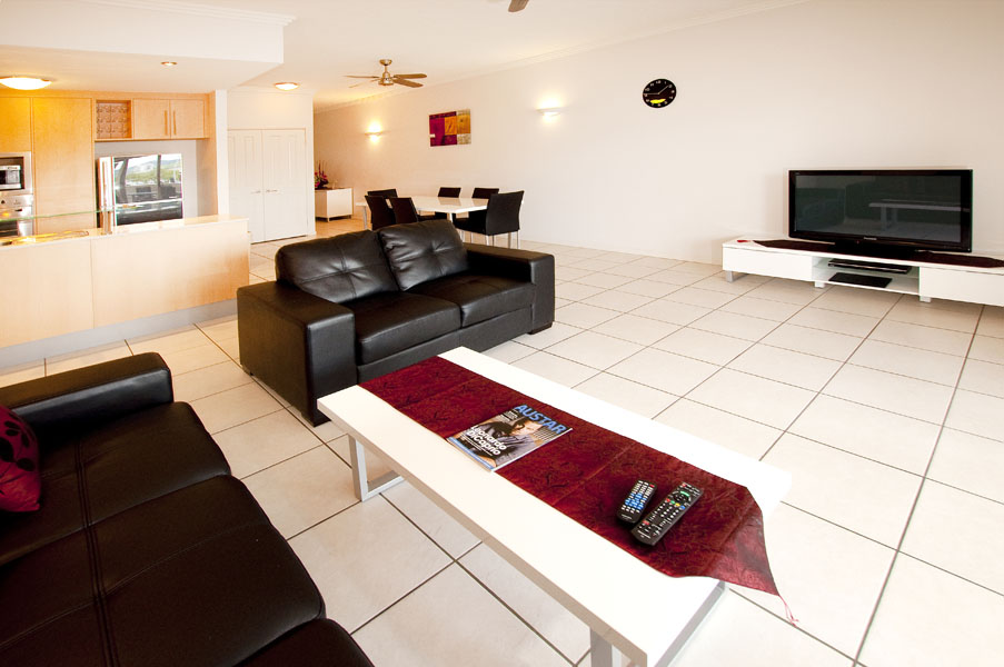 Lounge 1-Bedroom Apartment 0 Sq.m. Cairns City Apartments