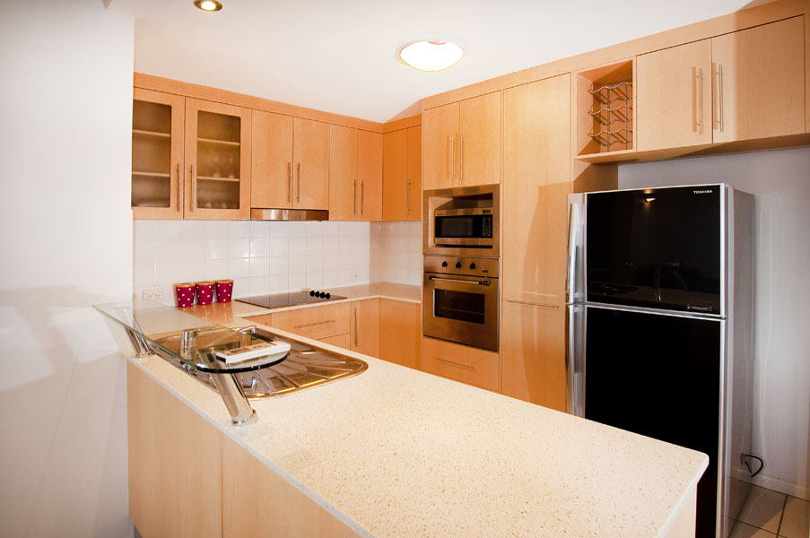 Kitchen 1-Bedroom Apartment 0 Sq.m. Cairns City Apartments