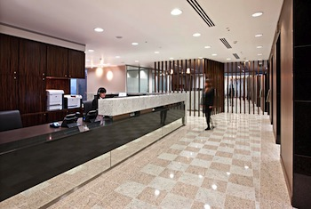 Lobby Serviced Offices Apartment 0 Sq.m. Servcorp - Manila, Tower One Ayala Triangle