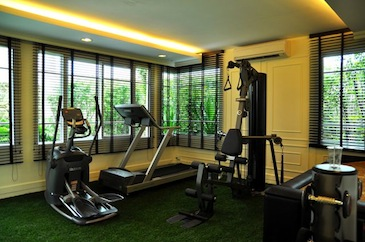 Fitness 2-Bedroom Apartment 100 Sq.m. L.A. Residence