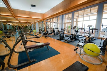 Fitness Center 1-Bedroom Apartment 65 Sq.m. Riverfront Apartments