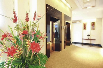 Elevator entry Studio Apartment 30 Sq.m. Atrium Boutique Hotel
