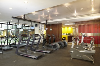 Fitness Center Studio Apartment 45 Sq.m. Chatrium Residence Bangkok - Sathon