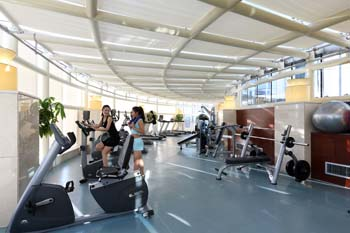 Fitness Center 1-Bedroom Apartment 60 Sq.m. Ariva Beijing West Hotel & Serviced Apartment