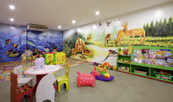 Children Playroom 3-Bedroom Apartment 285 Sq.m. Fraser Suites Hanoi