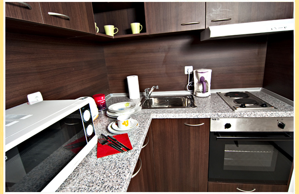 Kitchen 2-Bedroom Apartment 80 Sq.m. Area Radina Tower
