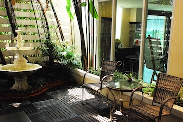 Garden 1-Bedroom Apartment 50 Sq.m. Astera Sathorn Bangkok