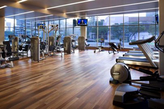 Gym 2-Bedroom Apartment 82 Sq.m. Pan Pacific Serviced Suites Orchard, Singapore