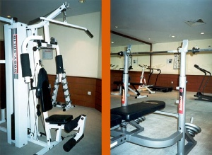 Fitness Center 1-Bedroom Apartment 110 Sq.m. The Maple Suite