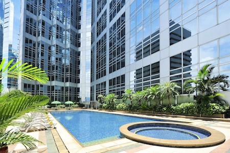 Swimming Pool 1-Bedroom Apartment  Sq.ft. Harbour Plaza North Point